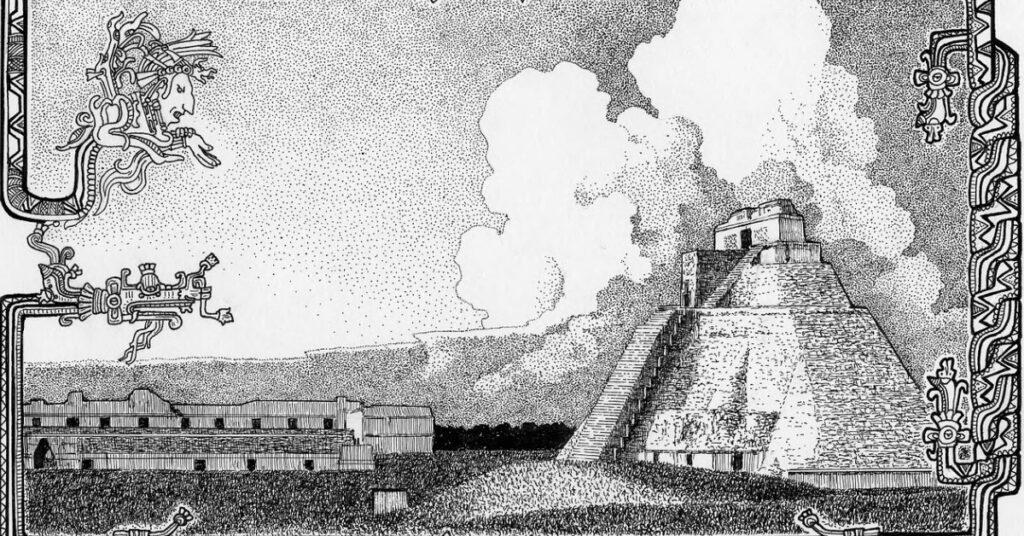 Mais Geschichte Maya Tempel Mexiko